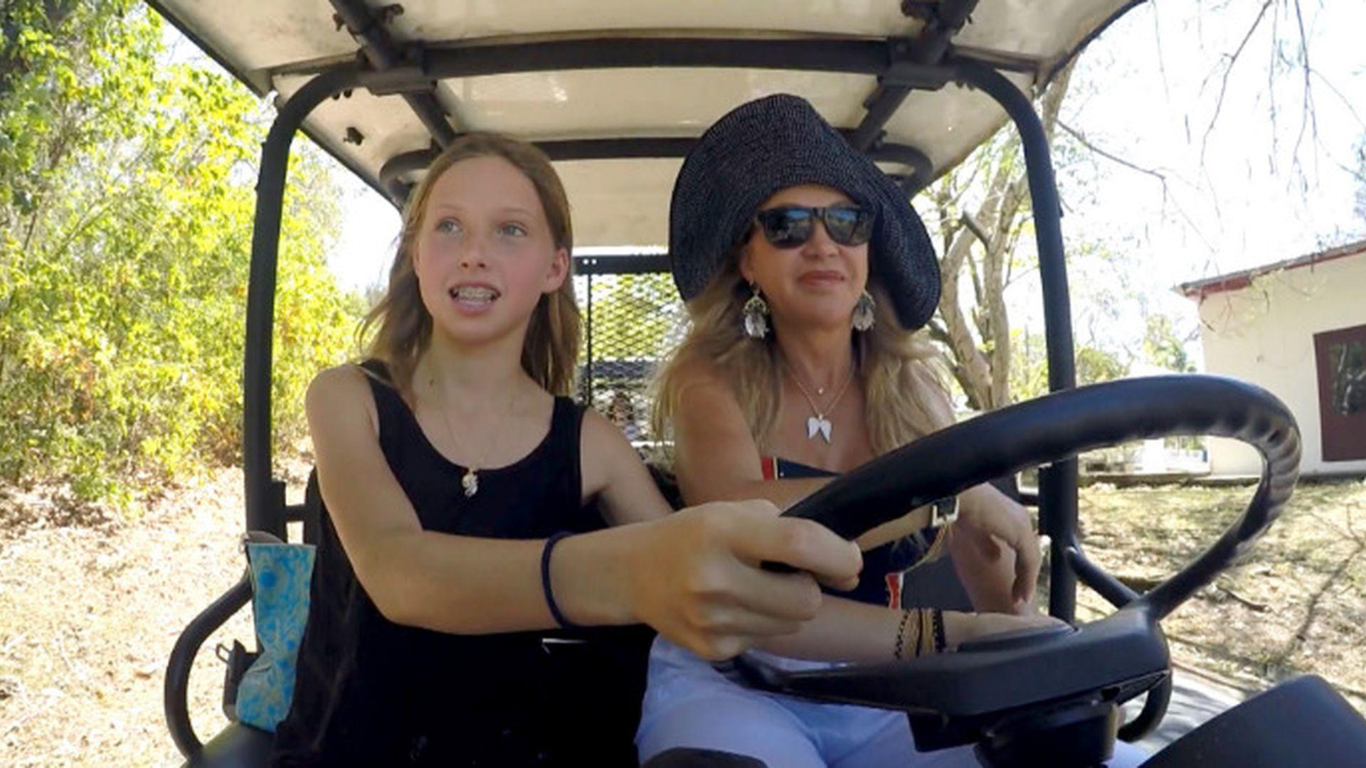 Führerschein mit 14: Geissen-Töchter dürfen bald Auto