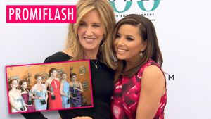 """Desperate Housewives""-BFFs: Felicity Huffman & Eva Longoria"