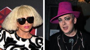 Lady GaGa schockt Boy George mit Vagina-Autogramm