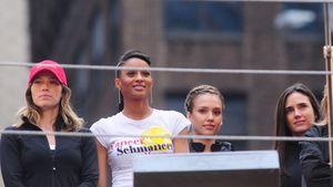 Jessica Alba und Jessica Biel nehmen an Charity-Lauf teil