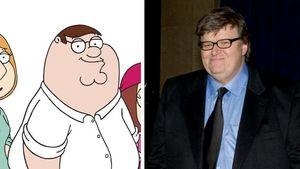 Sind Michael Moore und der Family Guy geheime Zwillinge?