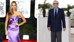Leona Lewis und Martin Scorsese