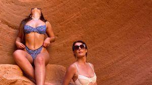 Heiß! TikTokerin Addison Rae und Mutter posieren im Bikini