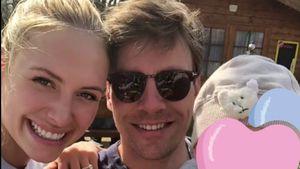 Alena Fritz: Sonniger Frühlingsausflug mit Mann & Baby!