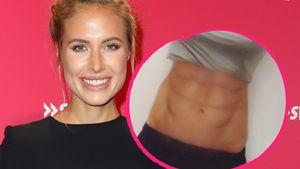 Nur aufgemalt? Alena Gerbers Sixpack-Bauch irritiert Fans!