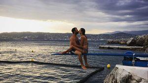 Immer noch verliebt: Alessandra Ambrosio küsst ihren Jamie!
