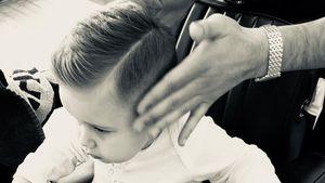 Frisch gestylt: Hauptsache Alessio hat die Haare schön!