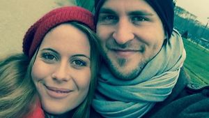 So verliebt: Alexander Klaws mit Nadja in Paris