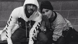 Alicia Keys und ihr Mann mit Rollschuhen