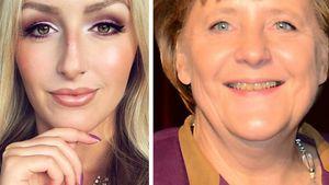 Mega-Transformation: Diese YouTuberin wird zu Angela Merkel!