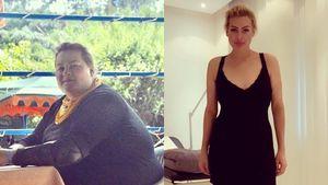 121 Kilo weniger: Aline Bachmann postet Vorher-Nachher-Bild
