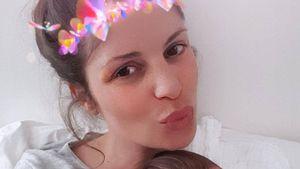 Alissa Harouat: Erstes Selfie von ihr & neugeborener Tochter