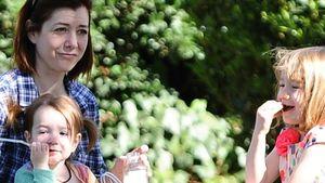 Idyllisch! Alyson Hannigan macht Familien-Picknick