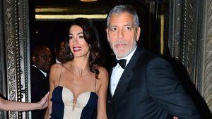 Von wegen Trennung: So feierten Amal & George Clooney Ostern