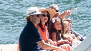 Seltener Anblick: Amal und George Clooney bei Trip mit Kids