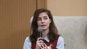 Unter Tränen verraten: Amanda Knox hatte eine Fehlgeburt