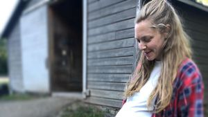 Nach Entbindung: Amanda Seyfried teilt Babybauch-Pic