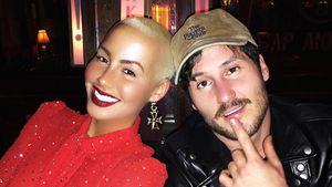 Amber Rose und Valentin Chmerkovskiy auf einem Selfie von 2016