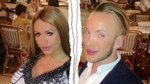 Anastasia Reskoss und Quentin Dehar in Monaco