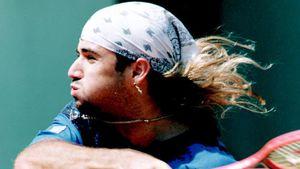 Vokuhila statt Glatze: So sah Andre Agassi früher aus