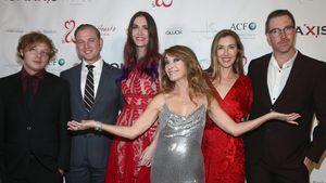 """Seltenes Pic mit den Kids von """"Dr. Quinn""""-Star Jane Seymour"""
