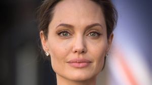 Angelina Jolie bei der UN Friedenssicherungskonferenz in London