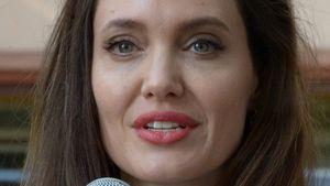 Angelina Jolie bei einer Rede für UNHCR