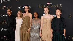 Wow-Auftritt: Angelina Jolie mit ihren Kids bei Premiere!