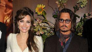 """Angelina Jolie und Johnny Depp bei der """"The Tourist"""" Premiere in New York im Dezember 2010"""