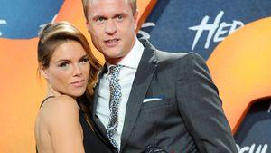 """Angelina und Alexander Posth beim Screening von """"Hercules"""" in Berlin"""