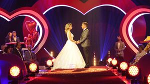 Im Live-TV: Stefan Mross und Anna-Carina haben geheiratet