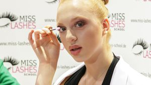 Anna Ermakova bei der Beauty Messe 2017 in Düsseldorf