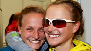 Anna & Lisa Hahner, deutsche Langstreckenläuferinnen