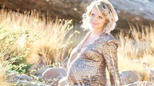 Bald kommt ihr Baby: Anna Heiser will Mama um sich haben