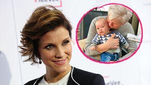 Wie süß: Hier kuschelt Anna-Maria Zimmermanns Baby mit Oma!