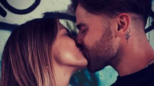 Erstes Knutschfoto von Bachelorette-Andreas und Annika
