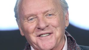 Anthony Hopkins bei einem TV-Panel in Pasadena