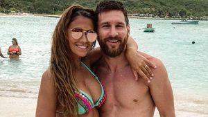 Von der Braut zum Bikini-Babe: Lionel Messis heiße Ehefrau!