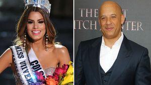 Vin Diesel und Ariadna Gutierrez