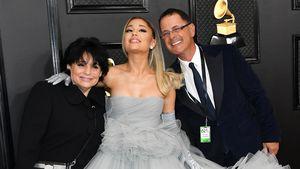Familien-Reunion: Ariana Grande war mit Eltern bei Grammys