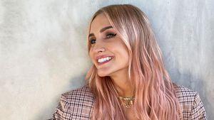 Neuer Look: Ashlee Simpson hat jetzt rosafarbene Strähnchen