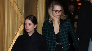 Total verliebt: Cara & Ashley machen Fashion Week unsicher