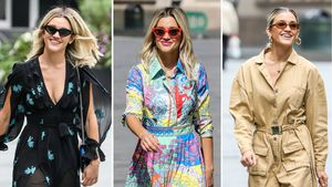 Pussycat-Dolls-Star Ashley Roberts total stylish unterwegs!