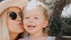 Nach Hirntumor-Tod: Ashley Stocks Tochter (3) wurde beerdigt