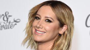 Neu-Mama Ashley Tisdale zum ersten Mal mit Baby unterwegs