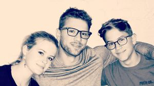 Seltenes Family-Pic: Ryan Phillippe mit Kids Ava und Deacon!