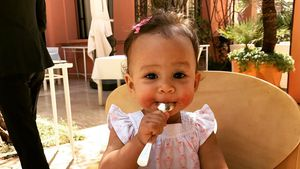 Baby Luna in Marrakesch