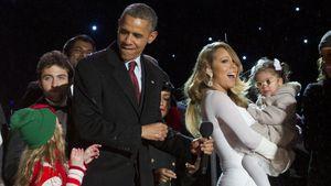 Mariah Careys Kind übergab sich auf Michelle Obamas Dress