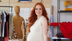 Schwangere Barbara Meier geht jetzt unter die Modedesigner