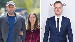 Ben Affleck turtelt mit Ana bei Doppel-Date mit Matt Damon